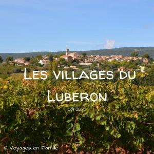 les villages du Luberon