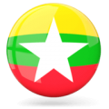 Myanmar glossy round icon 256 1